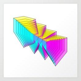 Cubes 4 Art Print