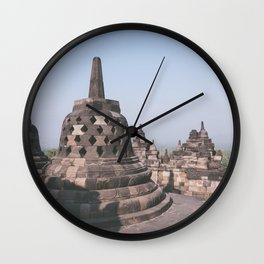 Temple, Indonesia Wall Clock