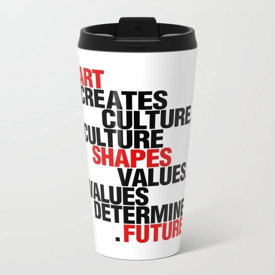 ART EFFECT Metal Travel Mug