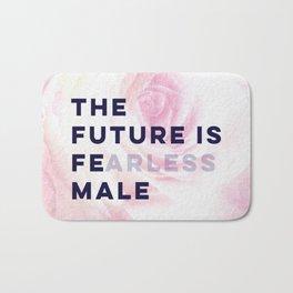 The Future is Female #girlboss #empowerwomen Bath Mat
