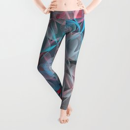 Abstract 159 Leggings