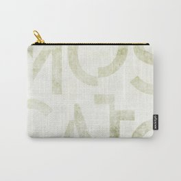 Moscato Wine Typography Carry-All Pouch