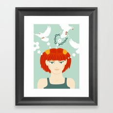 Mind Unchained Framed Art Print