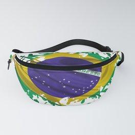 Brazilian Flag Fanny Pack