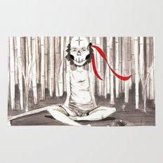 Death Wears a Mask Rug