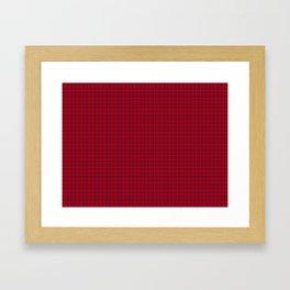 Rose Tartan Framed Art Print