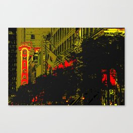 Chicagold. Canvas Print