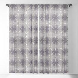 Seamless vector pattern. Striped gradient diamond shape. Sheer Curtain