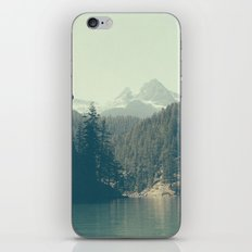 The departure - Diablo Lake iPhone & iPod Skin