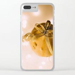 The Golden Pumpkin (Color) Clear iPhone Case