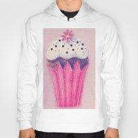 cupcake Hoodies featuring Cupcake by Irène Sneddon