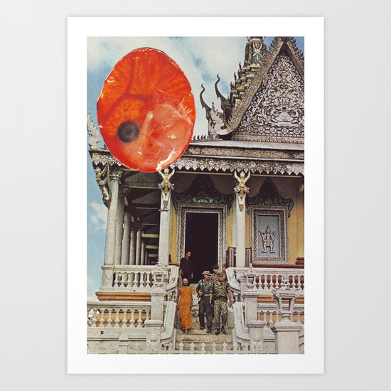 Collage #19 Art Print