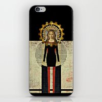 madonna iPhone & iPod Skins featuring Renaissance Madonna by Studio Judith