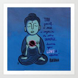 Buddha Quote1 Art Print