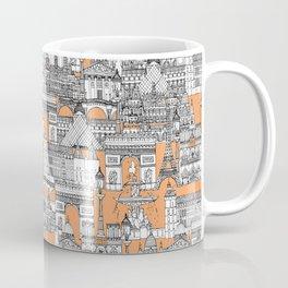 Paris toile cantaloupe Coffee Mug