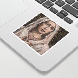 Mater Dolorosa V Sticker