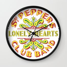 Sgt. Peppers Wall Clock