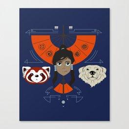 Spirited Avatar Canvas Print