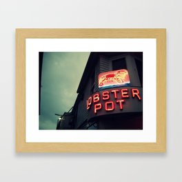 My Ptown Framed Art Print