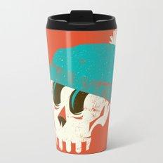 Skully Metal Travel Mug