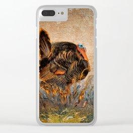 Wild Turkey Clear iPhone Case