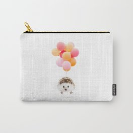 Hedgehog Balloons Carry-All Pouch
