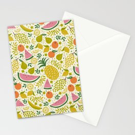 Fruit Mix Stationery Cards