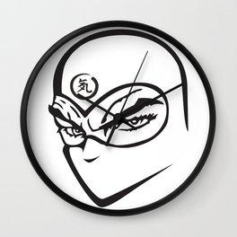 Gaiden Eyes Wall Clock