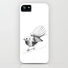New Zealand Fantail iPhone Case