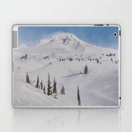 Snowy Mount Hood Laptop & iPad Skin