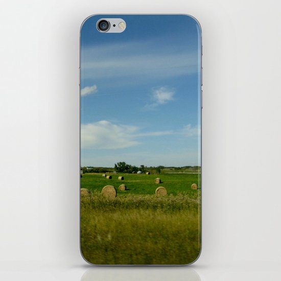 Summertime in WaterValley iPhone & iPod Skin
