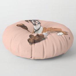 The Boxer (colour) Floor Pillow