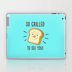 Cheesy Greetings! Laptop & iPad Skin