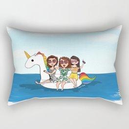 Pool Babes Rectangular Pillow