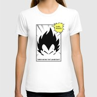 dragonball T-shirts featuring IT'S OVER 9000 (Dragonball, Vegeta)  by SOULTHROW
