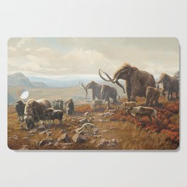 New York Pleistocene Tundra Cutting Board