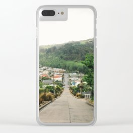 Steepest Street Clear iPhone Case