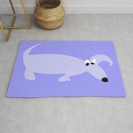 BLUE SNIFFER DOG Rug