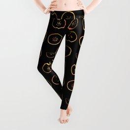 Golden apples Leggings
