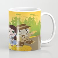 oz Mugs featuring Oz by 7pk2 online
