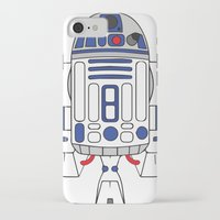 r2d2 iPhone & iPod Cases featuring R2D2 by Gyunjoo Kim