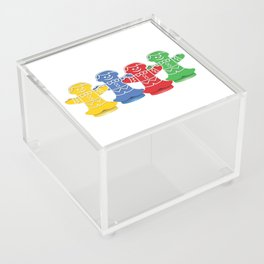 Candy Board Game Figures Acrylic Box