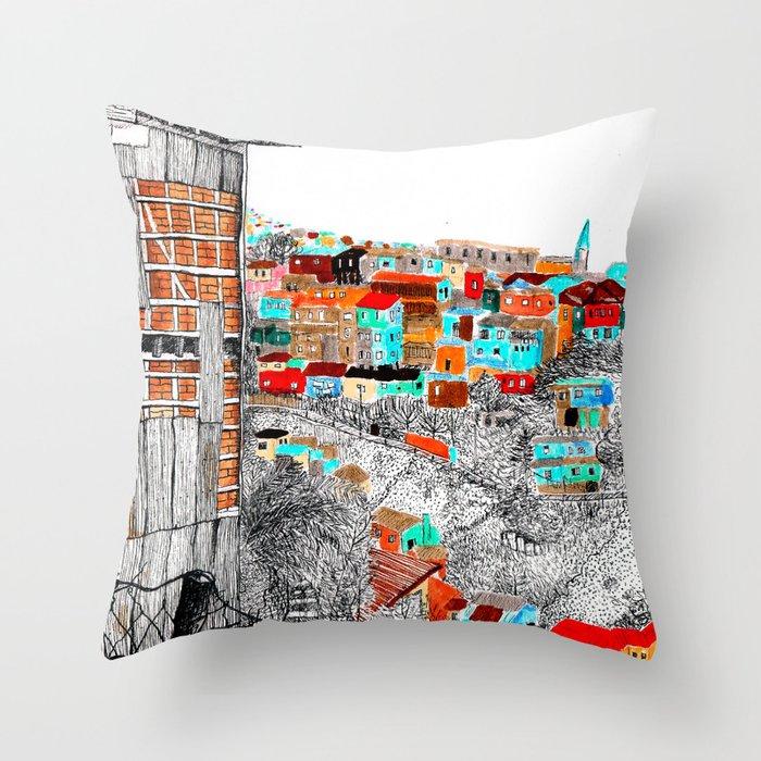 Valparaíso Throw Pillow