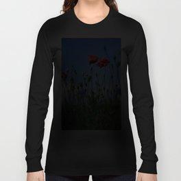 poppy flower no10 Long Sleeve T-shirt