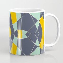 Abstrace Retro Colored Mandala Coffee Mug