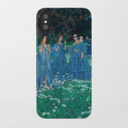 rihanna + maximilian lenz iPhone Case
