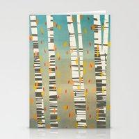 birch Stationery Cards featuring Birch by Shawn Tegtmeier