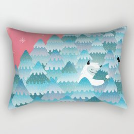 Tree Hugger Rectangular Pillow