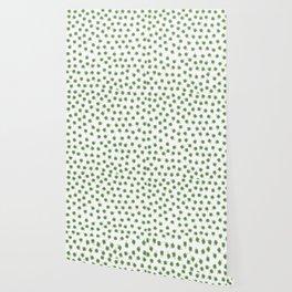 Light Green Clover Wallpaper