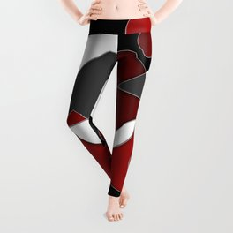 Abstract #515 Leggings